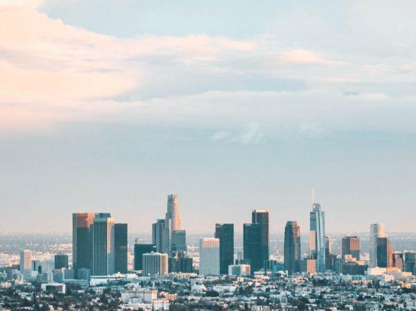 Skyskrapor i Los Angeles