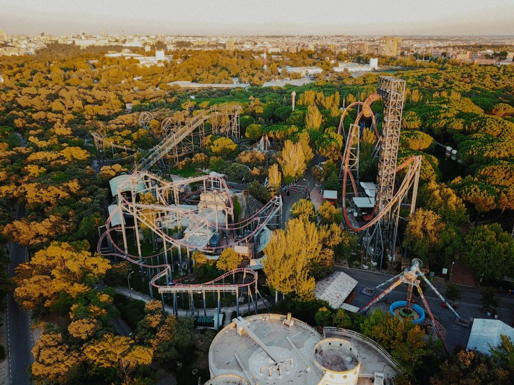 Nöjespark i Madrid
