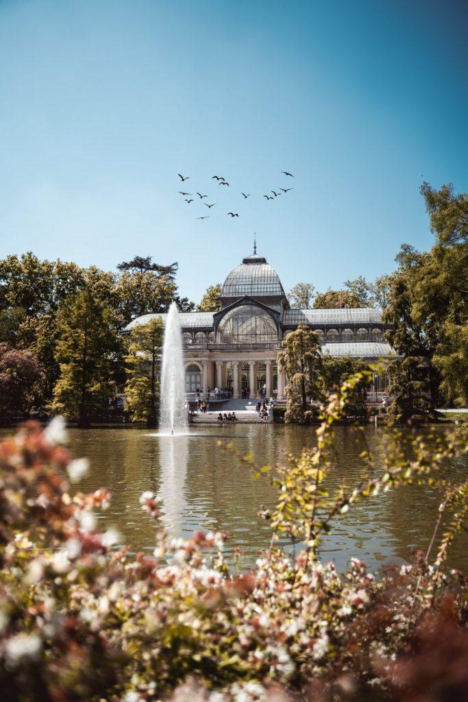 Vacker natur Madrid