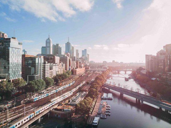 Melbourne utsikt