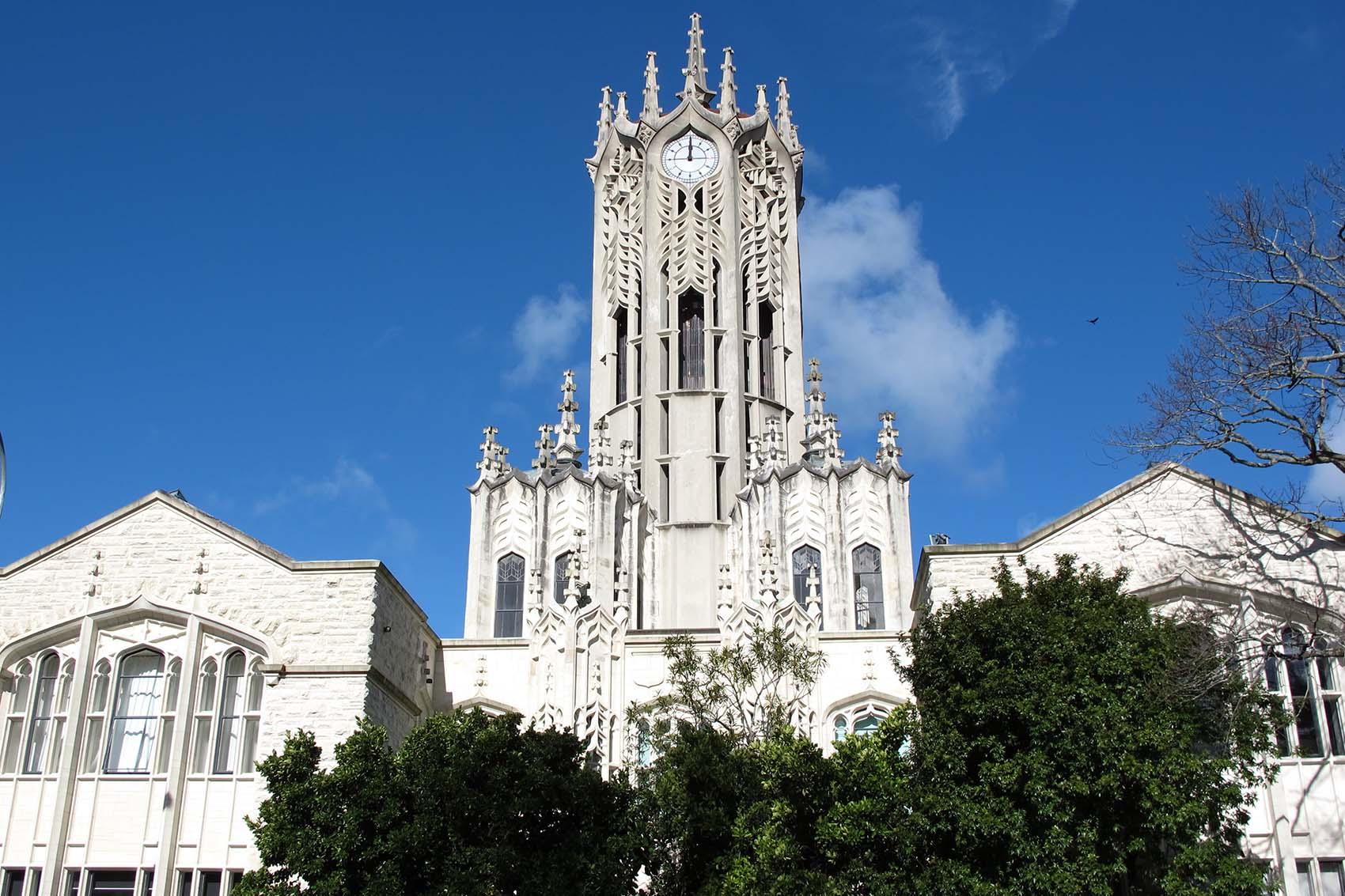 University of Auckland klocktorn