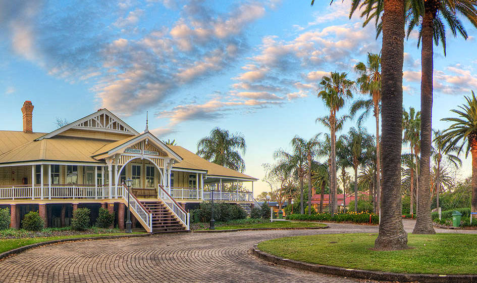 Strandhus vid ett av university of Queenslands camps